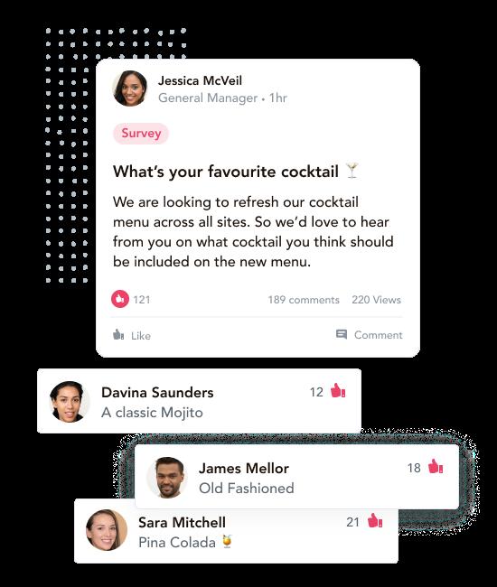 hospitality team communications software