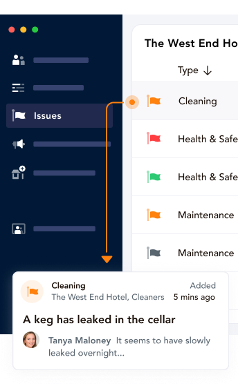 task management software, haccp, health and safety audit, checklist app, health and safety software