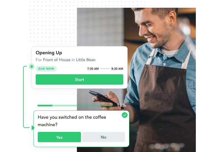 daily operations checklists and task management for restaurants, bars and hotels
