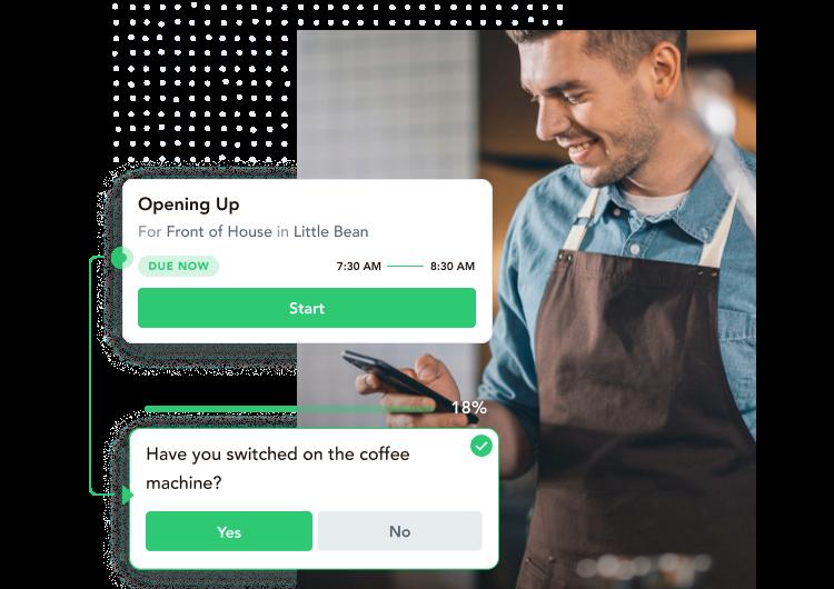task management, restaurant checklist, hotel checklist, digital task management
