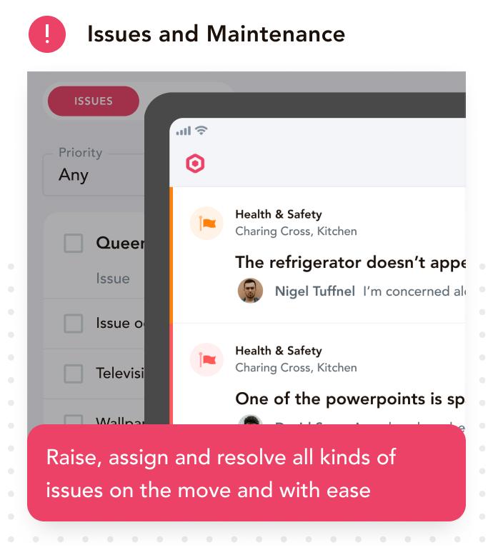 maintenance app, maintenance checklist, kitchen equipment maintenance, hotel management software, hotel housekeeping app