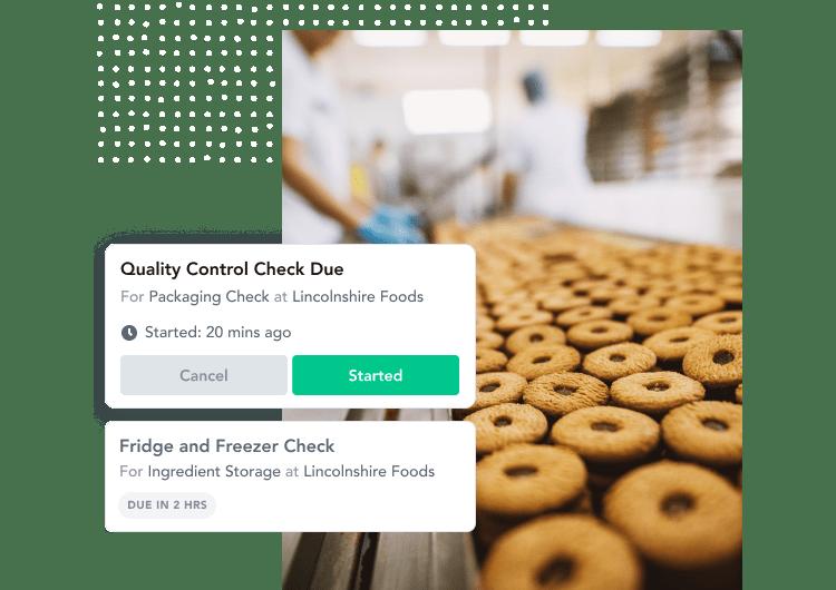 food safety management, digital food safety, HACCP checklists, digital food safety