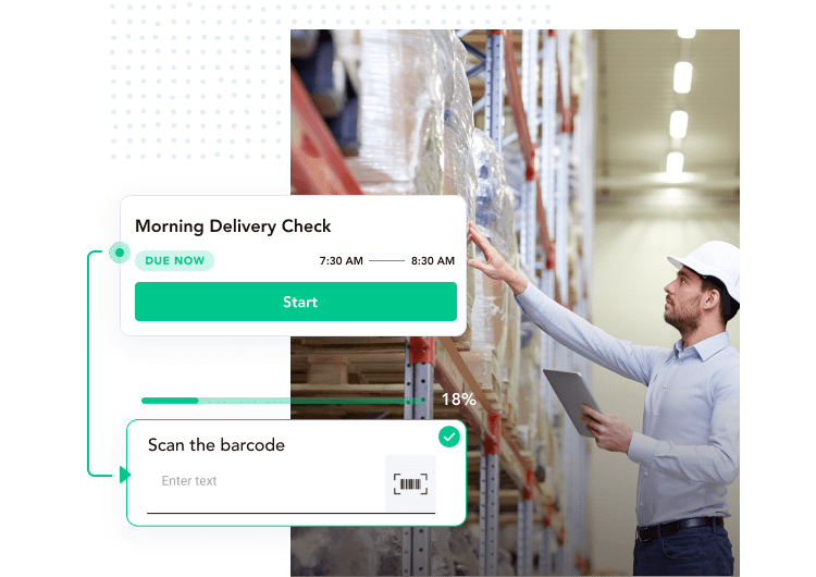 barcode scanner, Track Deliveries and Assets, Record Batch Numbers