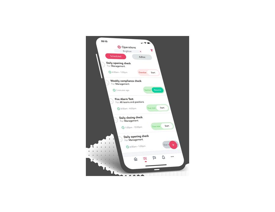 Phone schedule OpsBase